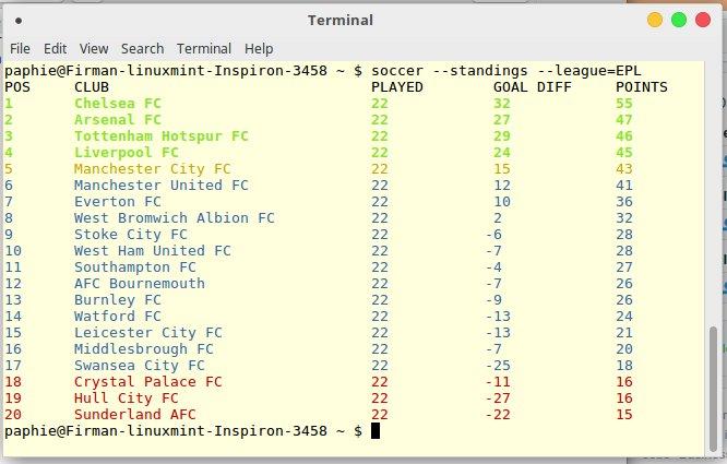 soccer-cli